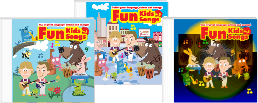 Fun Kids Songs: Full of great language, actions and energy!