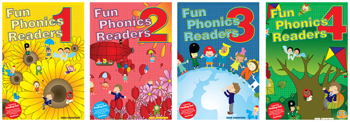 Fun Phonics Readers for the emerging young reader.