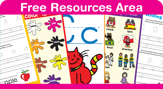 Lots and lots of free teaching and learning resources in our Resources Area. Great for the classroom or to use at home.