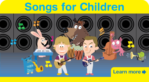 Learn more about our Fun Kids Songs. Educational English songs for both the Young EFL/ESL Learner and native speakers!