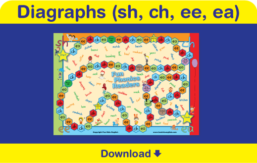 image relating to Printable Phonics Games named Absolutely free Phonics Board Online games: Childrens Audio, Childrens