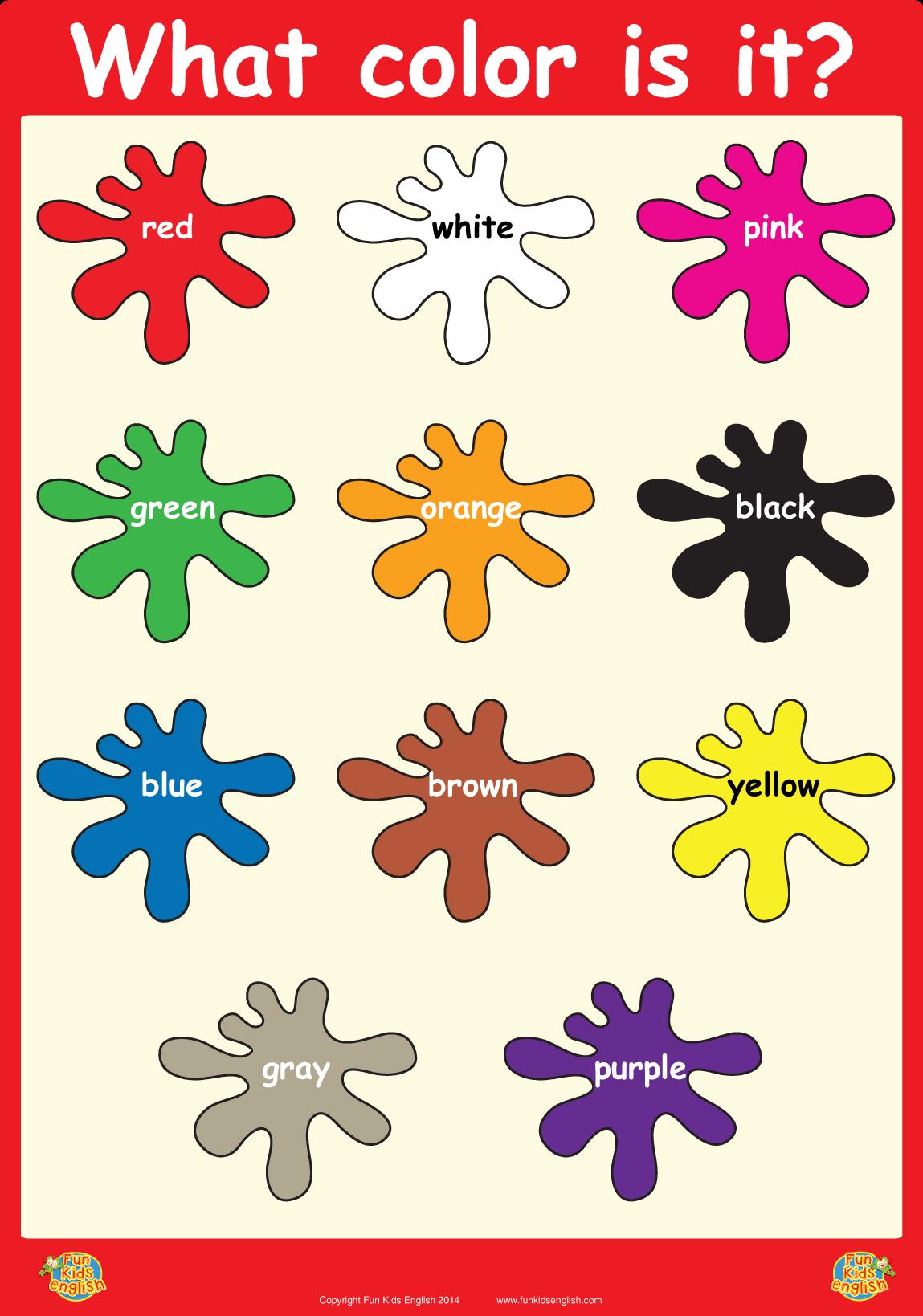 Free Printable Kindergarten Posters
