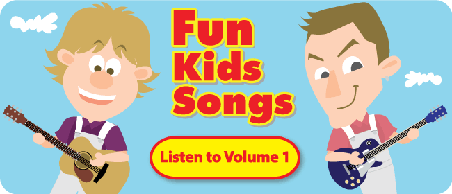 Fun Kids Songs Volume 1: Take a listen!