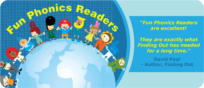 Children's Graded Phonics Readers: Fun Phonics Readers. Take a look inside the books!