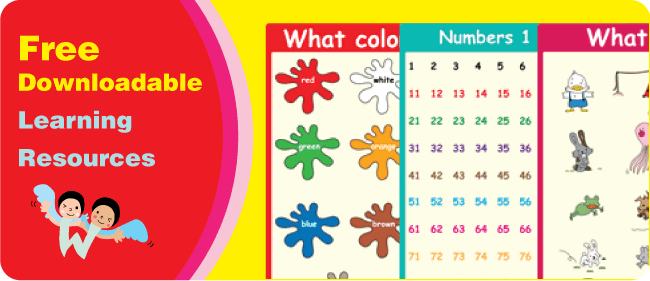 Free Teaching Resources: Free Printables, Posters, Flashcards, Playing Cards, Songs and more!